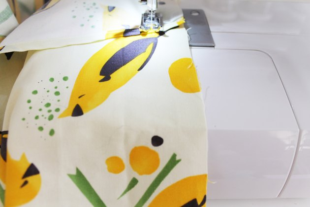 sewing shoulder seams