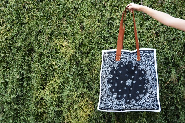 Reversible Bandana Tote Bag