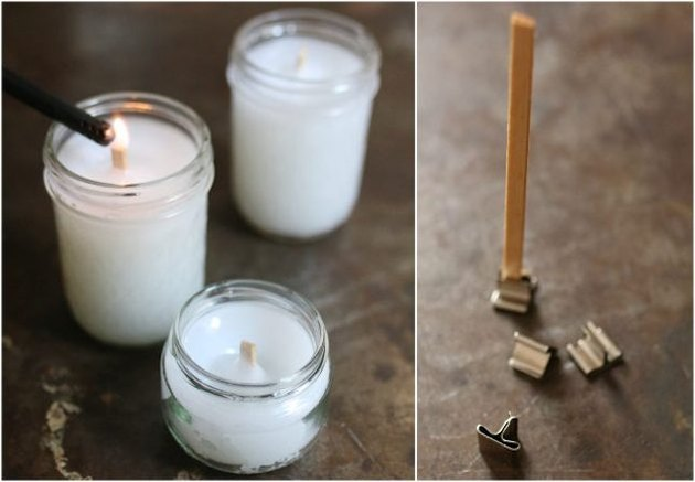 Make Wood Wicks for Candles