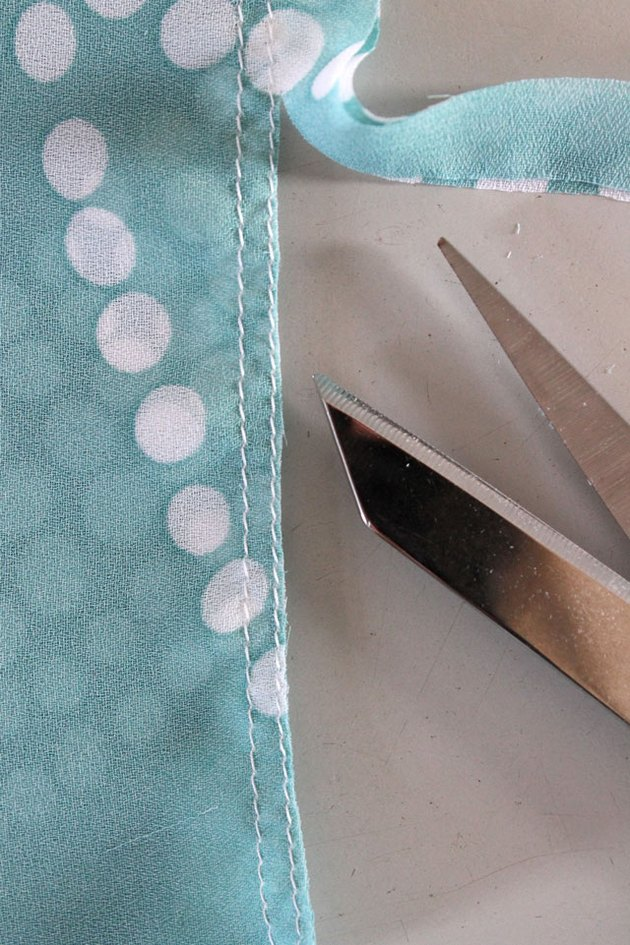 double-stitched seam step 3