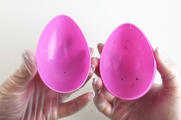 Large plastic egg