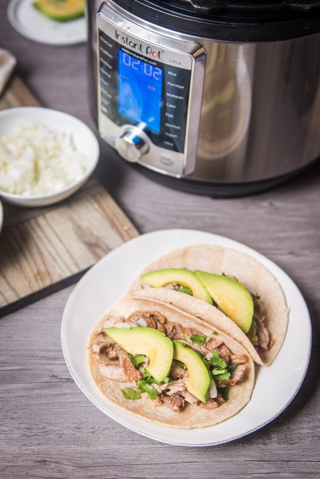 Instant Pot Recipe: Pulled Pork Tacos