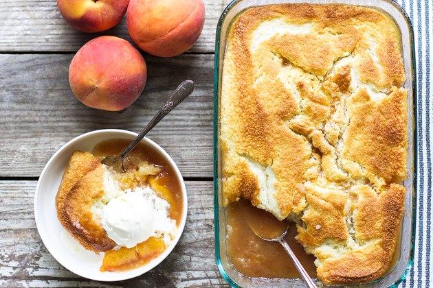 Delicious Homemade Peach Cobbler