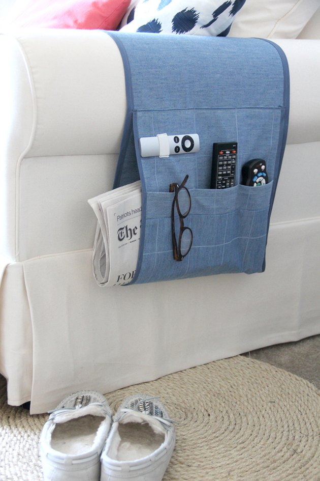 How to Make an Arm Chair Remote Holder