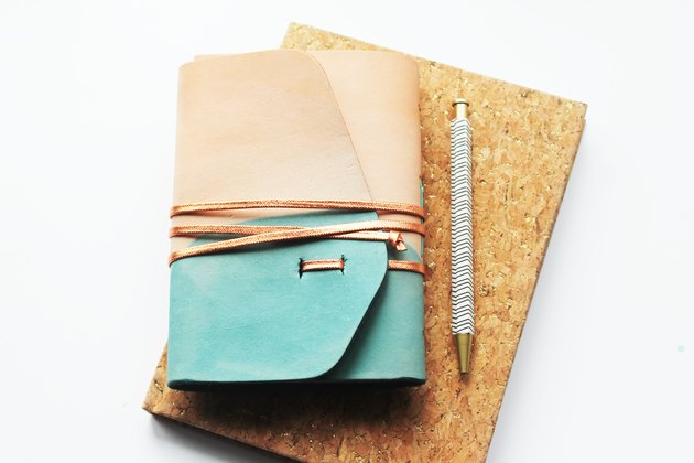 Dip-Dyed Journal