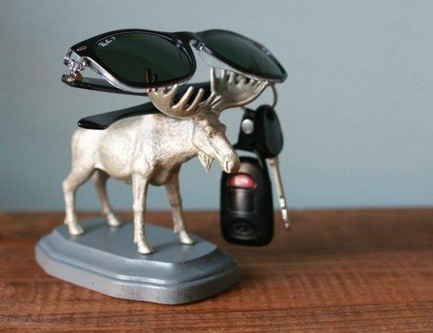 DIY animal keys holder