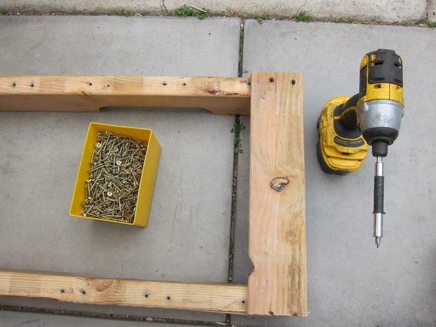 Start assembling bench