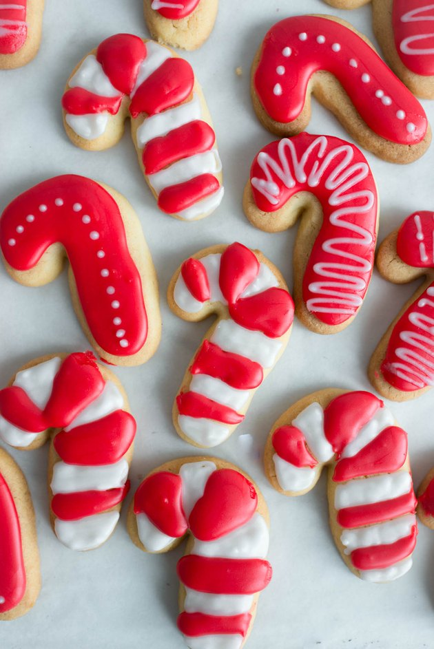 These Candy Cane Sugar Cookies are delicious and make for wonderful Christmas gifts.