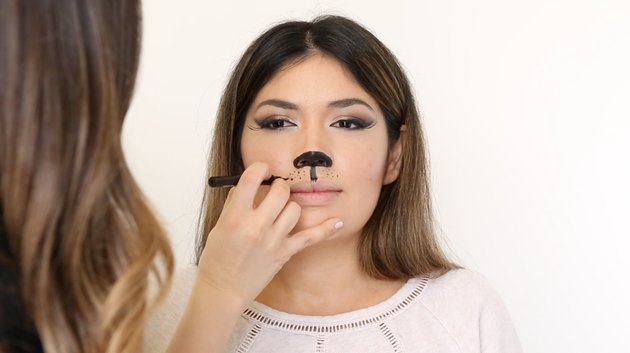 How to Make a Cat Face With Makeup