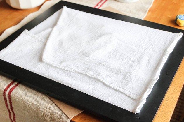Recipe Towel Art