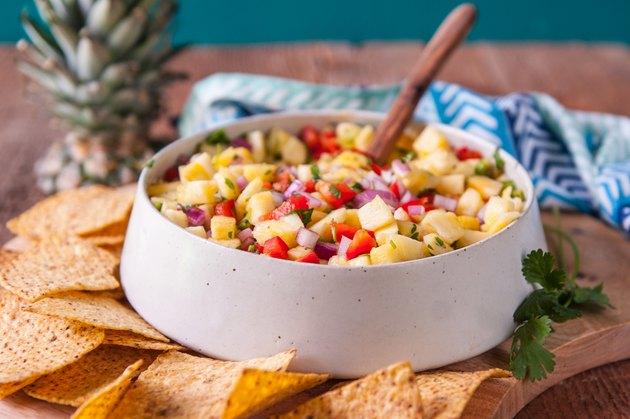 This Pineapple Salsa Recipe