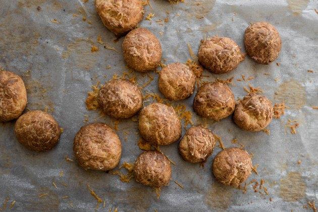 Bake until evenly golden brown.