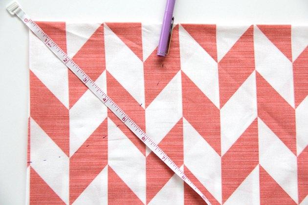 Measuring the radius of your skirt waist
