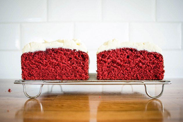 How to Make Red Velvet Pound Cake