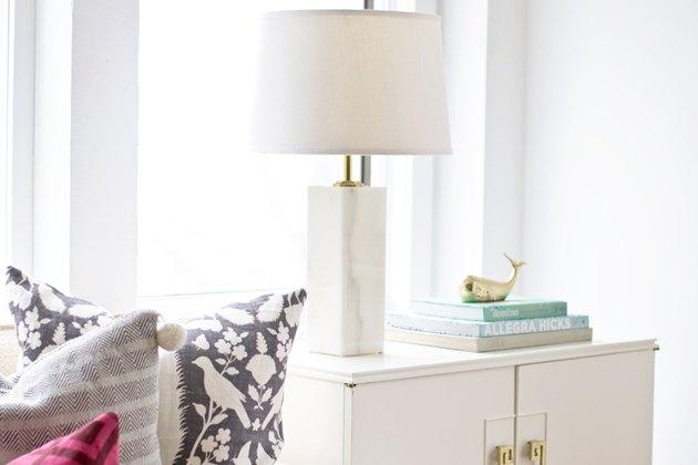DIY marble lamp