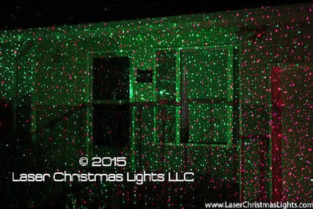 Laser Christmas Lights are extremely high quality.
