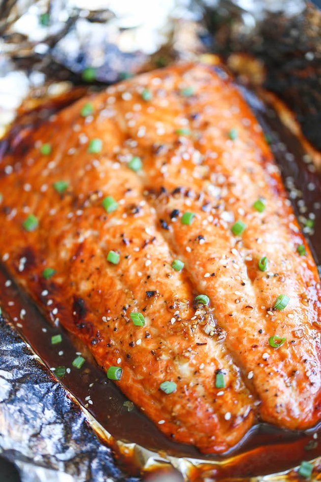 Asian salmon.