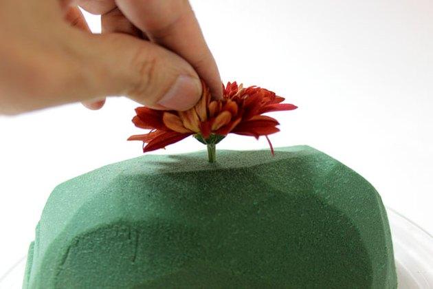 insert flower