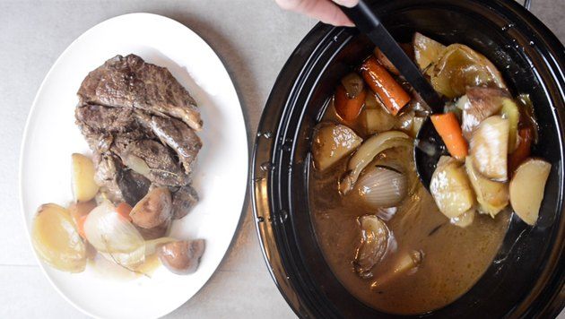Crockpot Roast with Gravy Recipe