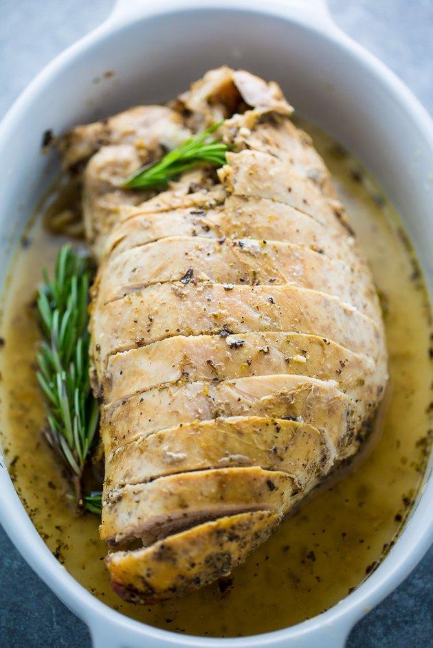 Slice and serve warm.