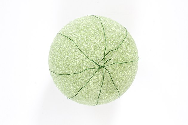 wire foam ball
