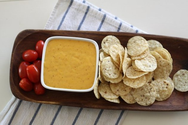 Homemade cheese dip