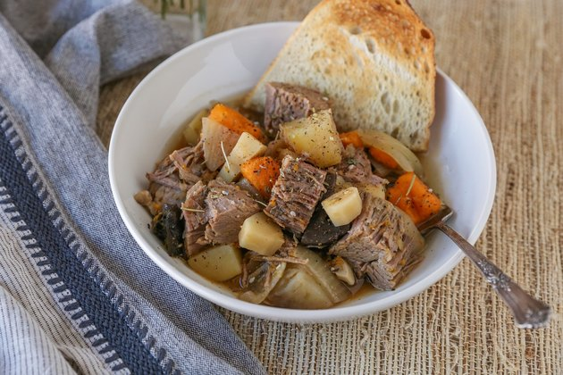 Pot roast and veggies
