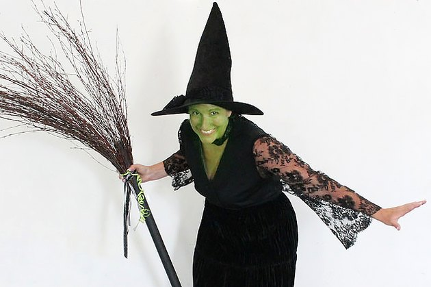finished witch costume