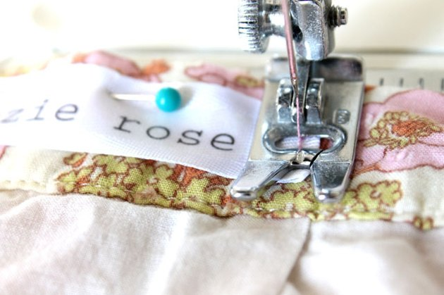 sew with a sewing machine