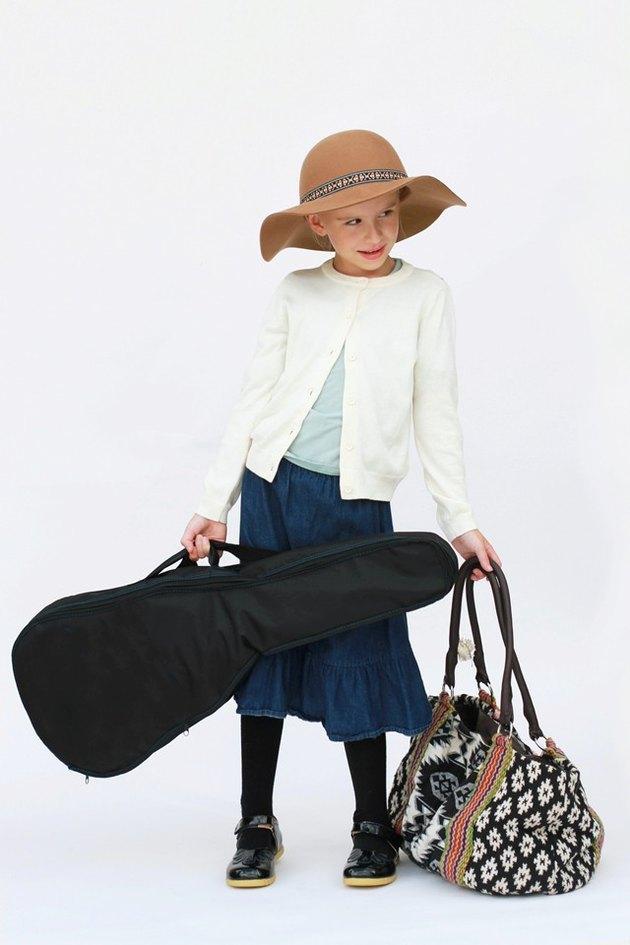Girl in Fraulein Maria Costume
