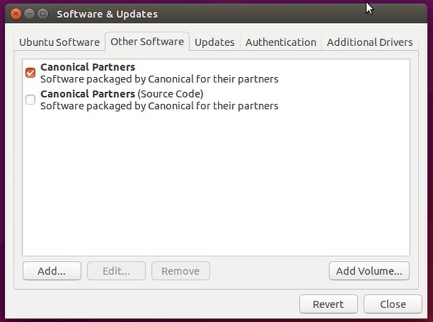 Software repositories can easily be added to Ubuntu.