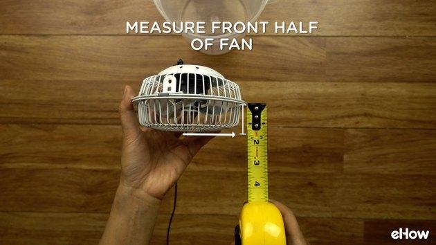 Measuring fan for DIY Mini USB Desktop Air Conditioner