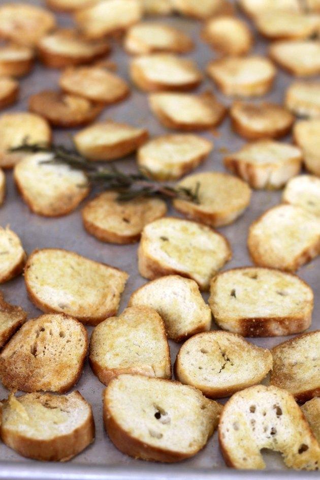 roasted bagel chips, method 1