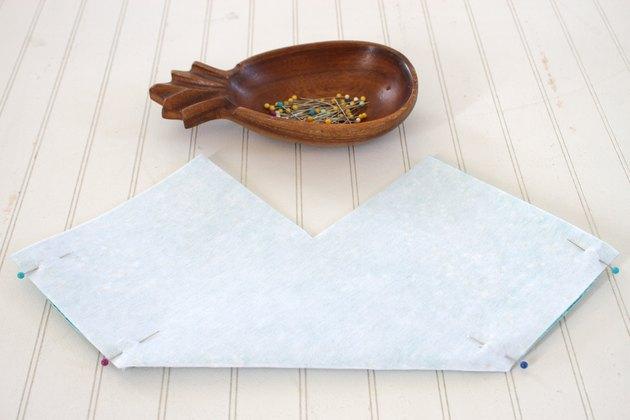 Make a cute fabric storage box in any size you like.