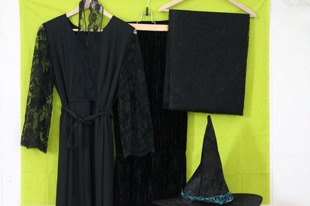 witch costume materials