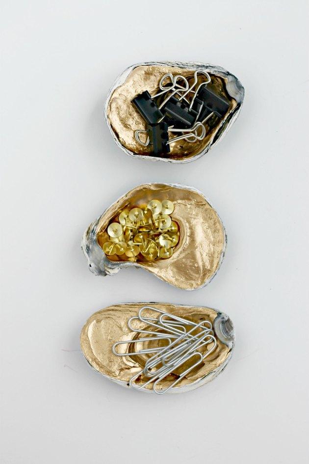 Oyster shell office organization