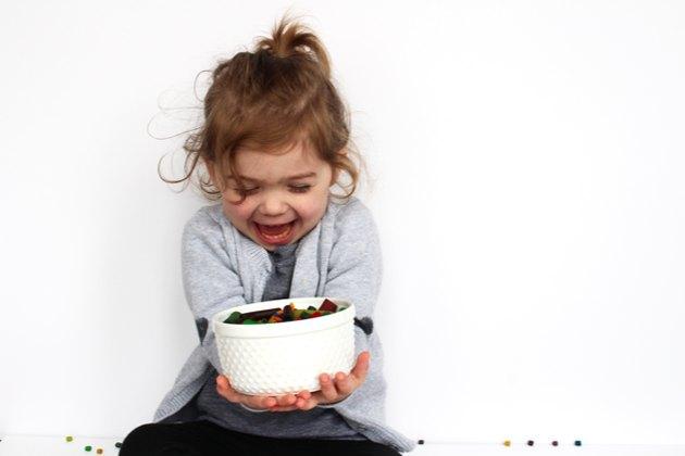 child + pasta + art