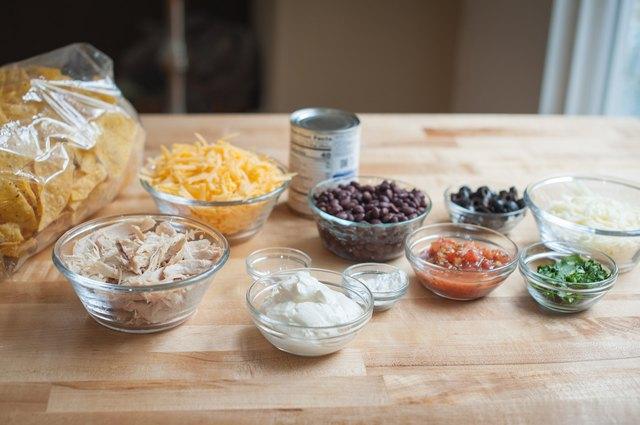 Sheet Pan Queso & Chicken Nachos Recipe