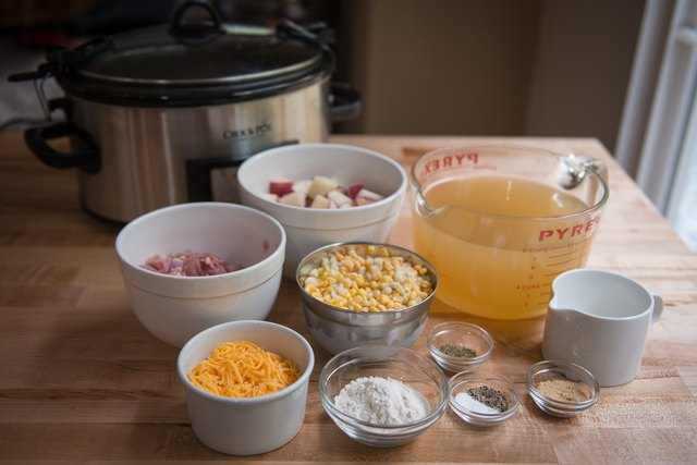 Slow Cooker Chicken Corn Chowder Recipe