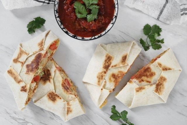 Vegan copycat Crunchwrap recipe