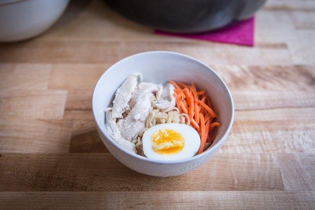 Healthy Turkey Ramen Bowls