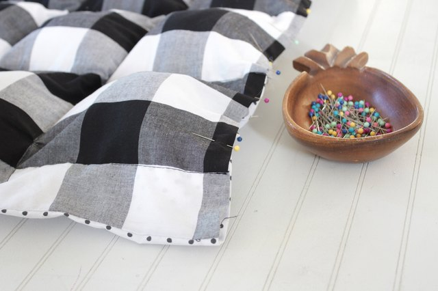 Handmade weighted blankets can be soothing and calming for anyone with insomnia or sensory integration issues.