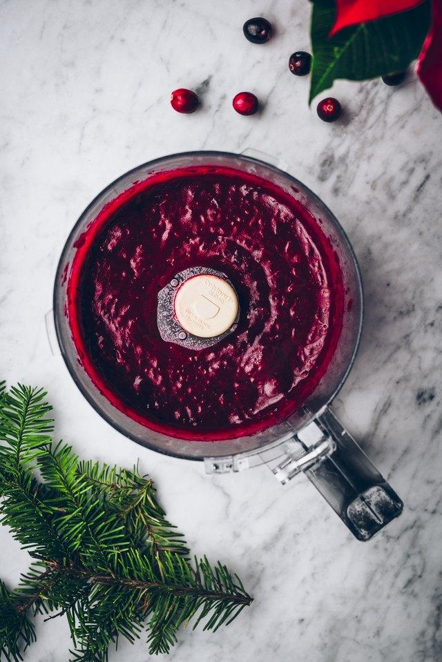 blended cranberries