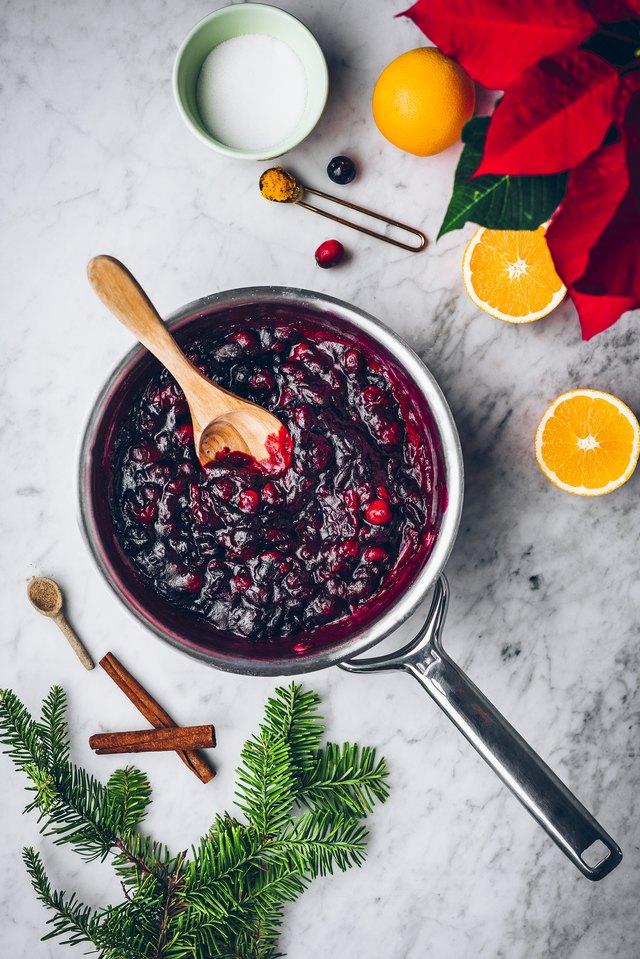 cooked cranberries