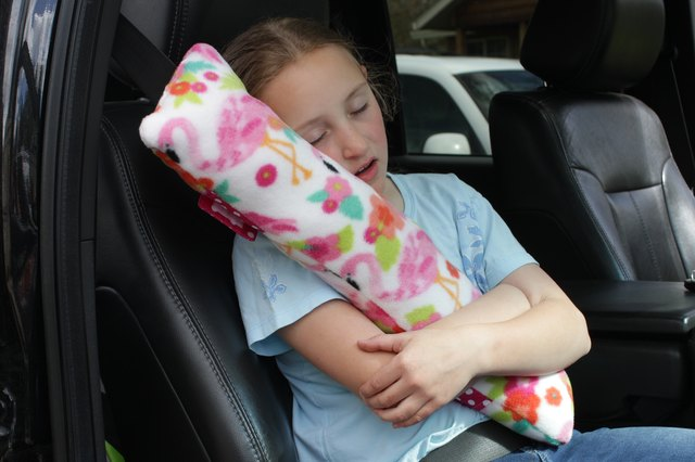 Make a few of these simple seatbelt pillows to be sure everyone is as comfortable as possible on your epic road trip this summer.