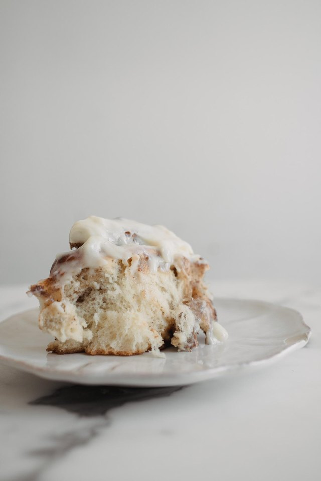 These cinnamon rolls are soft, fluffy, and delicious.