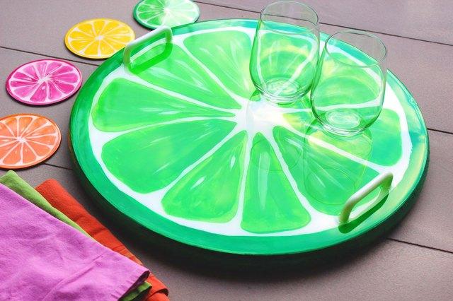 fruit slice tray