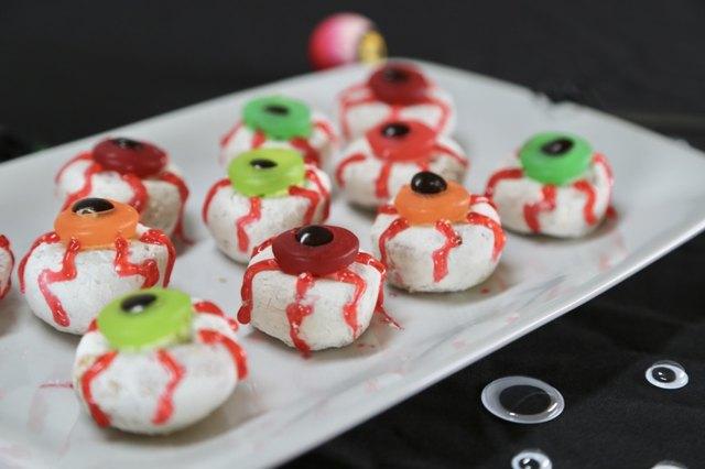 DIY Donut Eyeballs