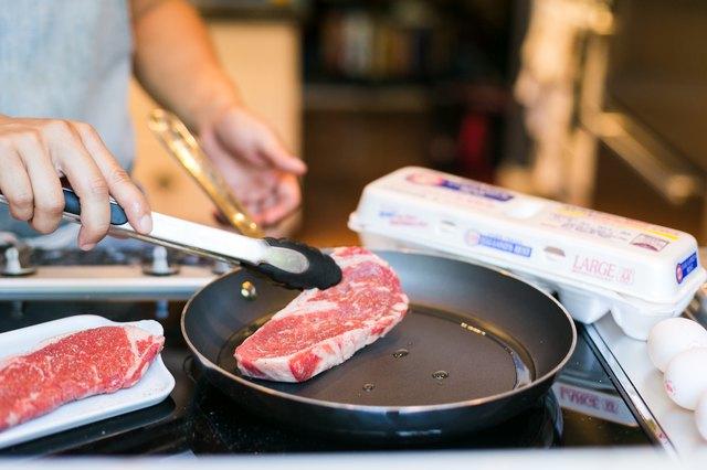 Heat a heavy bottom pan