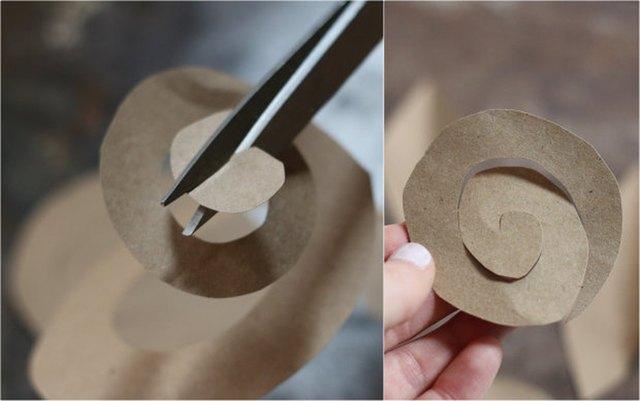 Make rosettes